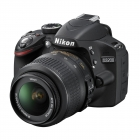 Nikon D3200 Digital SLR Camera with 18-55mm VR Lens Kit